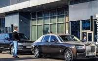 В Киеве редкий Rolls-Royce за 18 миллионов заметили в МакДрайве