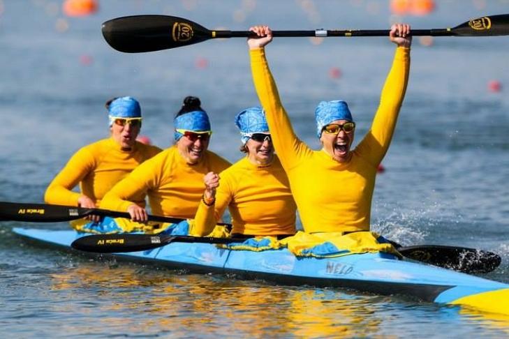 Женская сборная Украины погребле набайдарках пробилась вфинал Олимпиады