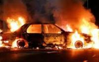 За сутки четыре автомобиля сгорели на территории одной области