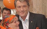 Ни Ющенко, ни Тимошенко не приехали на похороны бабы Параски