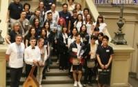 Иностранцы съехались в летний лагерь, чтобы выучить украинский язык