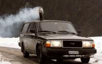 Швейцарец оборудовал автомобиль печью-буржуйкой (ФОТО)