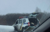 Жуткое ДТП под Львовом: грузовик столкнулся с патрульными