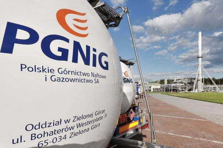 Поляки будут хранить газ вподземных хранилищах Украинского государства