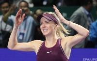 Свитолина заняла лучшее место мирового рейтинга в карьере