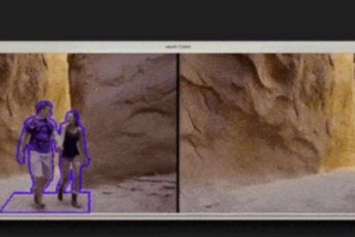 Инструмент Adobe Cloak работает как Content-Aware Fill для видео