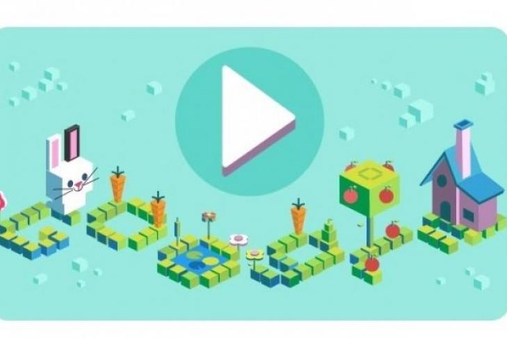 Google подчеркнул «дудлом» 50 лет программированию для детей
