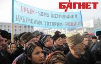 Более 2 тысяч крымских татар вышли на улицы Симферополя защищать свои права (ФОТО)