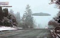 Гигантское НЛО в Бостоне попало на видео