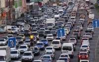 В Киеве посчитали количество автомобилей: результат ужасает