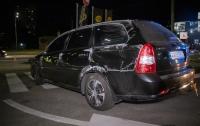 ДТП в Киеве: пьяный водитель легковушки попал в аварию и пытался сбежать