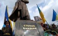 На Львовщине появился еще один памятник Бандере