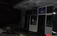 Пожар произошел в помещение 9-этажного админздания в Ривне