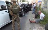 Киевские полицейские в ходе спецоперации задержали вооруженную банду грабителей