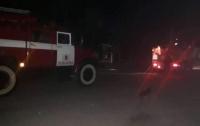 На Киевщине женщина умерла, увидев пламя во дворе