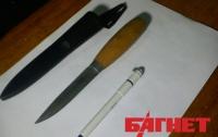 В Киевсовете у националиста изъяли оружие