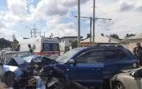 В Харькове в ДТП пострадали дети