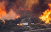 Из-за пожара в Калифорнии эвакуировали 90 тысяч жителей