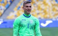 Вратарь сборной Украины перейдет в мадридский