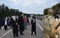 На беларуской границе увеличилось количество хасидов