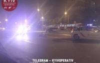 В Киеве погиб пешеход, перебегавший шесть полос дороги