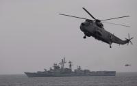 Индийский вертолет упал в Аравийское море, погибли 4 человека