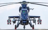 Испытания нового боевого вертолета прошли в Китае