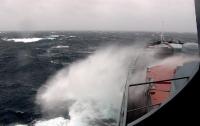 Судно с 22 людьми на борту пропало в Атлантическом океане