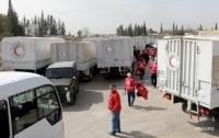 Красный Крест отправил на Донбасс более 50 тонн гумпомощи