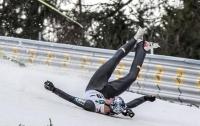 Трехкратный олимпийский чемпион госпитализирован после падения с трамплина (ВИДЕО)