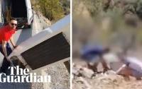 В Испании мужчина сильно пожалел, что выбросил холодильник (видео)