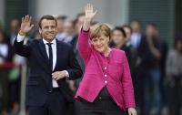 Меркель и Макрон могут поговорить об Украине в воскресенье