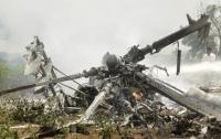 На юго-западе Колумбии на месте авиакрушения на мужчину упал вертолет