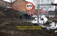 Обвал на стройке в Киеве: погиб рабочий