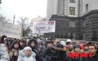 Как обитатели общежитий выгоняли Близнюка из Кабмина (ФОТО)