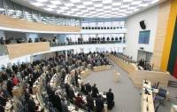 Литовский Сейм просит у Венгрии поддержки Украины