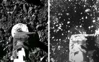 NASA показало видео дня: станция OSIRIS-REx проводит забор грунта с околоземного астероида Бенну