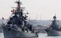 40 кораблей Черноморского флота РФ проводят учения в Крыму