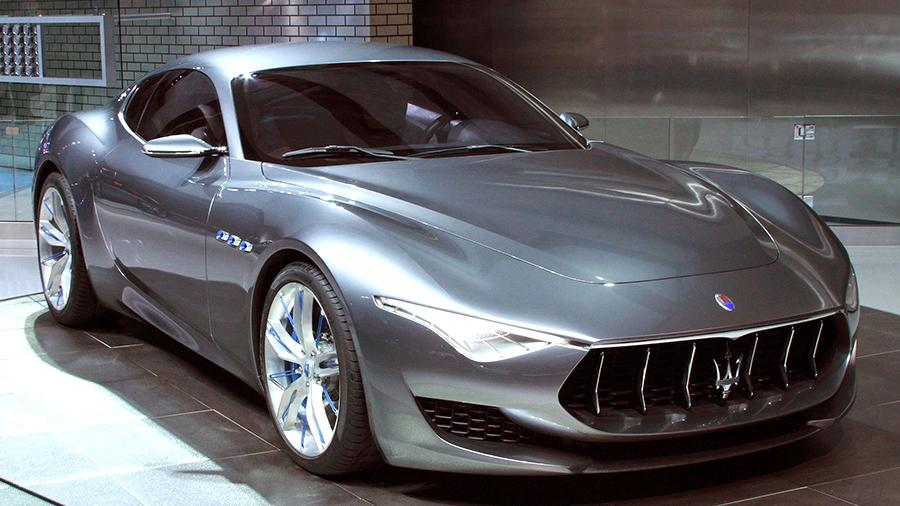 Maserati выпустит быстрый гибридный спорткар