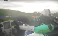 Шокирующая авария: 17-летний гонщик Формулы-4 лишился обеих ног (видео)