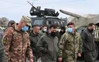 Президент проверил готовность армии защищаться от оккупантов со стороны Крыма