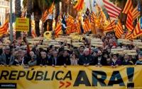 Каталонцы возобновили протесты за независимость
