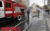 В Харькове ночью едва не сгорела «хрущевка» с 60 семьями