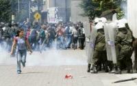 В Колумбии демонстрантов разогнали слезоточивым газом