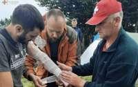 Туристы пострадали от молнии в Карпатах