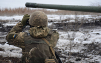 С начала суток ранен один боец ВСУ