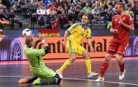 Сборная Украины по мини-футболу вышла в четвертьфинал Евро