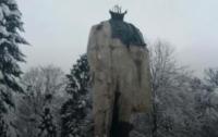 Мужчин, которые отбили голову памятнику Шевченко на Львовщине, задержали