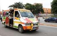 Самосвал раздавил микроавтобус, десятки погибших  и пострадавших