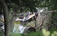 В Польше разбился самолет, люди на борту погибли